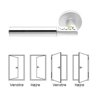 Assa Code Handle 8810 Door  rfs.