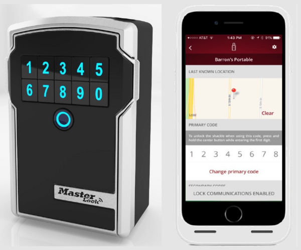 Masterlock Bluetooth Nøgleboks Entreprise version